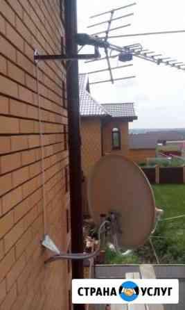 Установка спутниковых цифровых антенн Новосибирск