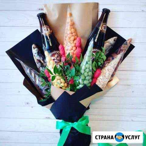 Съедобные букеты Ижевск