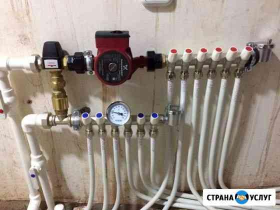 Отопления,водопровод,канализация Георгиевск