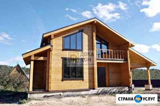 Строительство домов из бруса камерной сушки Калуга