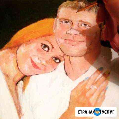 Портреты по фото, картины маслом, карандашом Томск