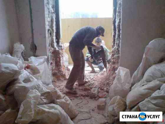 Демонтаж построек, демонтаж домов Тверь