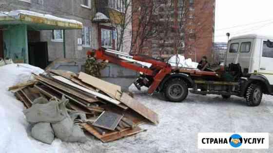 Вывоз строительного и бытового мусора Мурманск