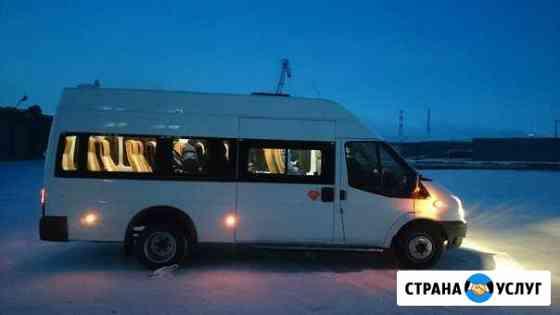 Заказ автобусов, минивенов, внедорожников Норильск