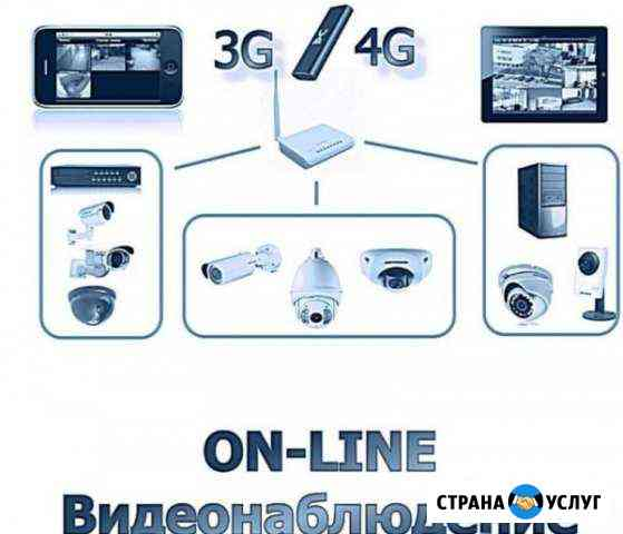 Видеонаблюдение, интернет online, сигнализации Кстово
