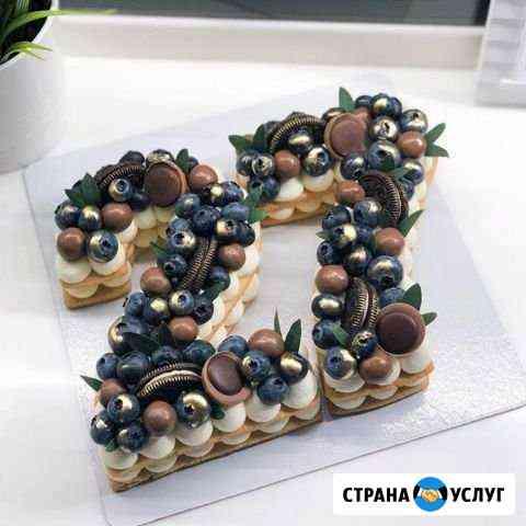 Капкейки, торты, печенье имбирное, Павлова, попсы Иркутск