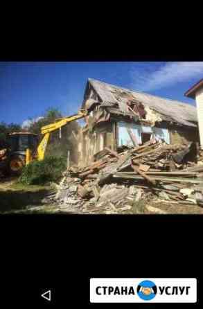 Снос домов и построек Егорьевск