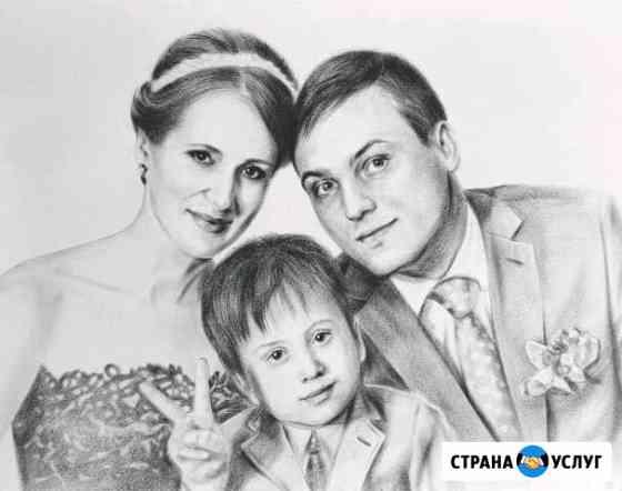 Рисую портреты. Живопись / Графика Хабаровск