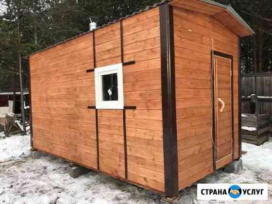Баня каркасная 5м *2.3 Екатеринбург