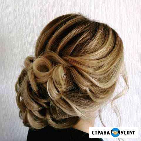 Свадебные и вечерние причёски Бердск
