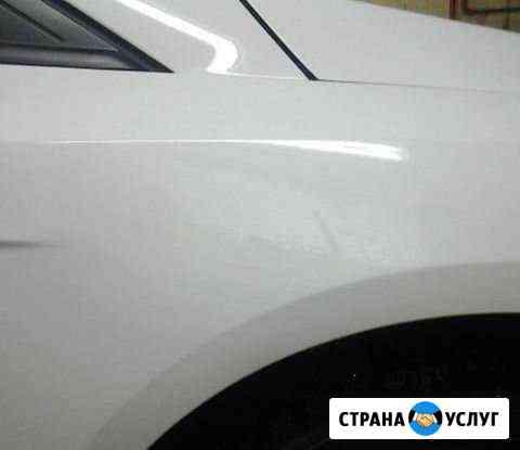 Удаление вмятин без покраски автомобиля Нижневартовск