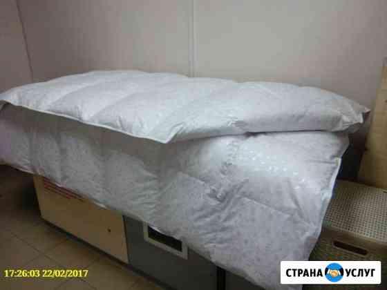 Чистка и реставрация пухо-перьевых изделий Новосибирск