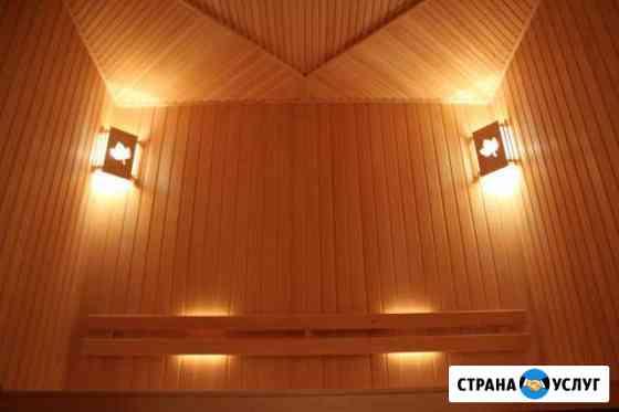 Профессиональная отделка бань И саун Нижний Новгород
