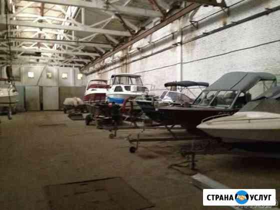 Стоянка яхт катеров лодок Астрахань