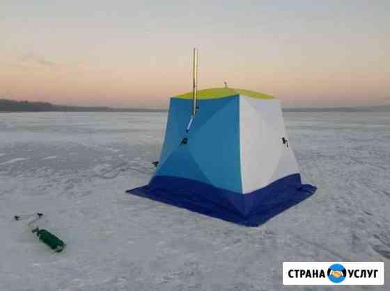Аренда зимней палатки с печкой Ижевск