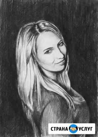 Портреты карандашом с фотографии Орёл