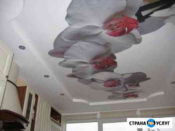 Натяжные потолки Магас