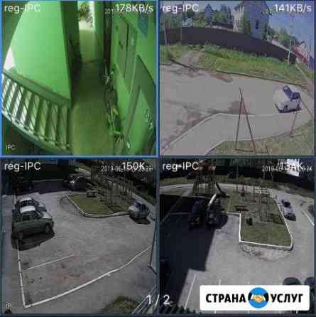 Монтаж видео наблюдения Пермь