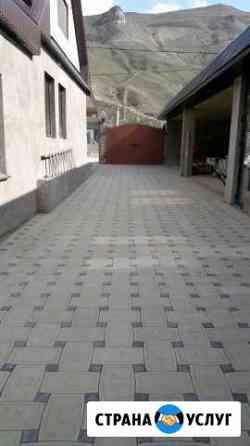Укладка тротуарной плитки Моздок