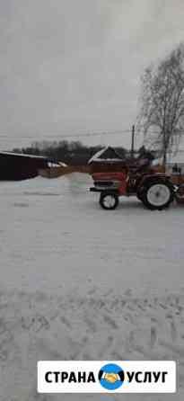 Уборка снега минитракторам Барнаул