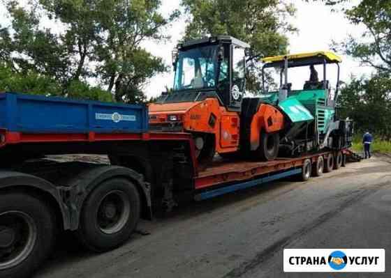 Трал попутно до90т негабаритный груз перевозка РФ Череповец