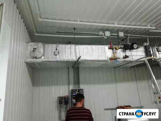 Монтаж вентиляции, кондиционирования, электрики Саранск