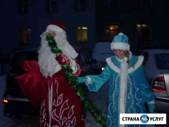Костюмы Деда Мороза и Снегурочки на прокат Мурманск