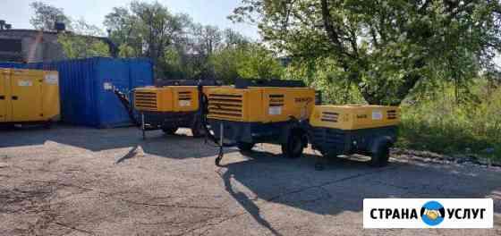 Аренда компрессора дизельного 5-12 м3, 7-12 бар Волгоград