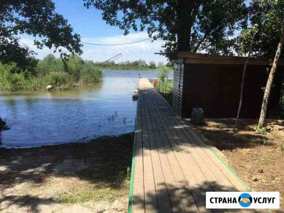 Рыбалка в Астрахани 2 дома у реки для Вас Камызяк