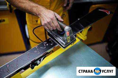 Обслуживание и ремонт горных лыж и сноубордов Омск