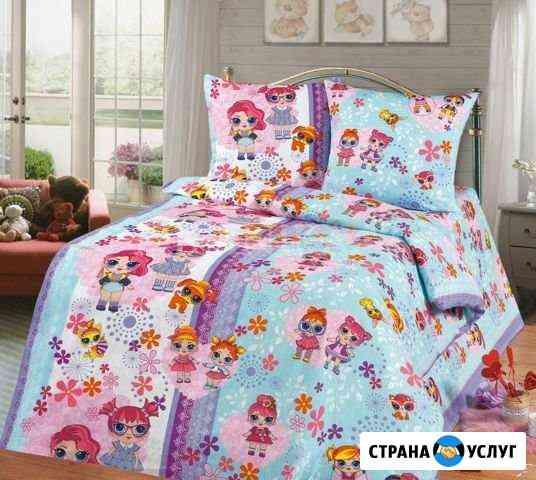 Пошив комплектов в кроватку на заказ Рославль