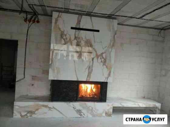 Установка каминов Калининград