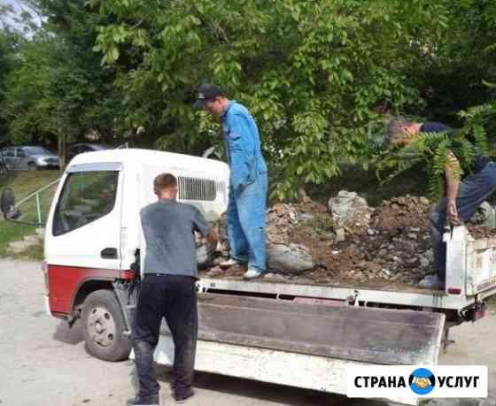 Вывоз мусора любого строительного, бытового, грунт Новороссийск