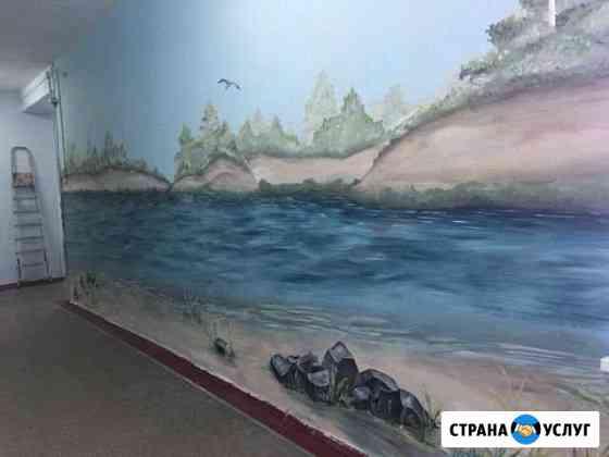 Роспись стен Хабаровск