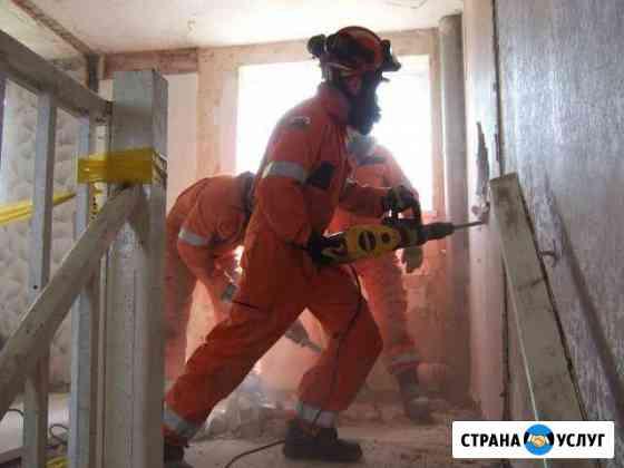 Слом, демонтаж стен (перегородок) Ярославль