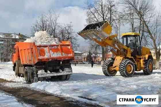 Уборка вывоз снега Новосибирск