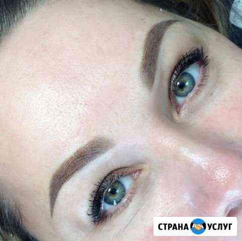 Обучение перманентный макияж, татуаж Бровей, Губ Курск
