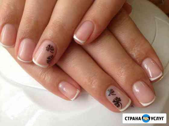 Наращивание ногтей, педикюр, покрытие гель-лаком Дмитров
