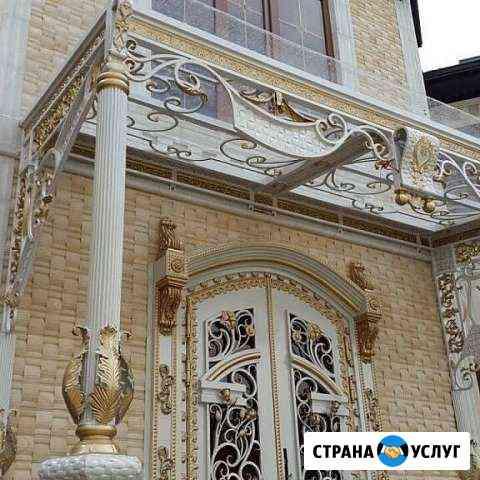 KerlKov: Ворота, Навесы, Перила, Двери, Козырьки Урус-Мартан