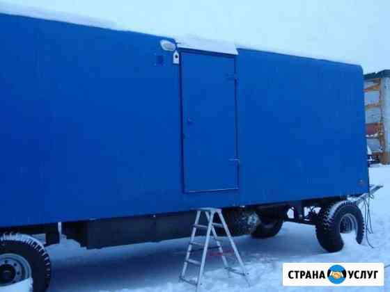 Ремонт вагон домов, вагончиков для вахтовиков Лангепас