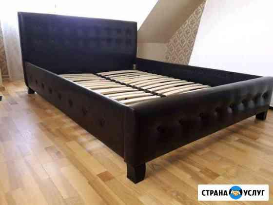 Перетяжка ремонт мягкой мебели Калининград
