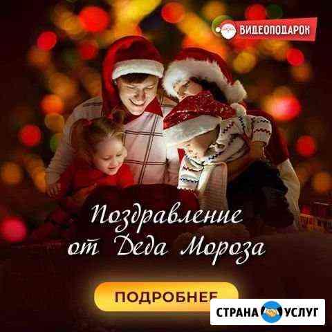 Видеопоздравление от Деда Мороза Оленегорск