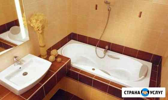 Ремонт ванные панелями,кафелем Череповец