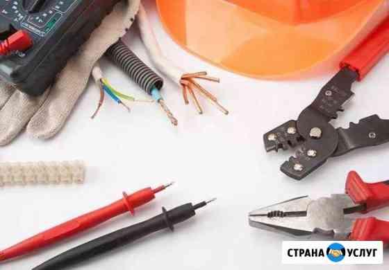 Электрика, строительные работы Любинский