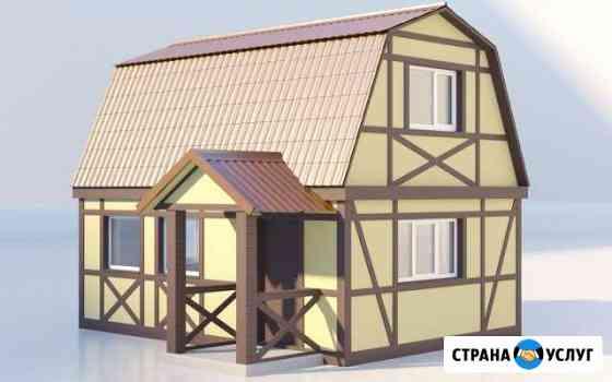 3d проекты фасадов, зданий и сооружений Брянск