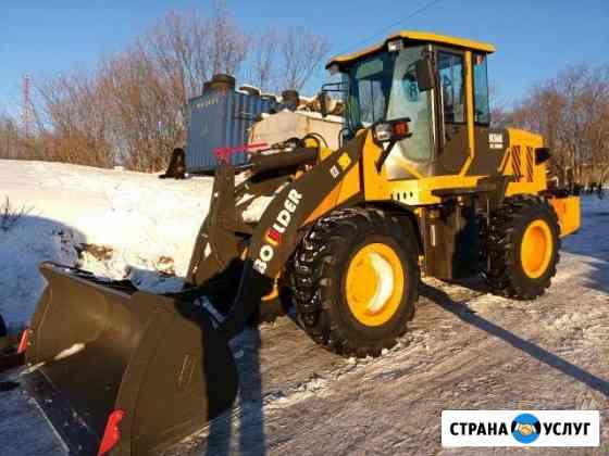 Уборка территории от снега Петропавловск-Камчатский