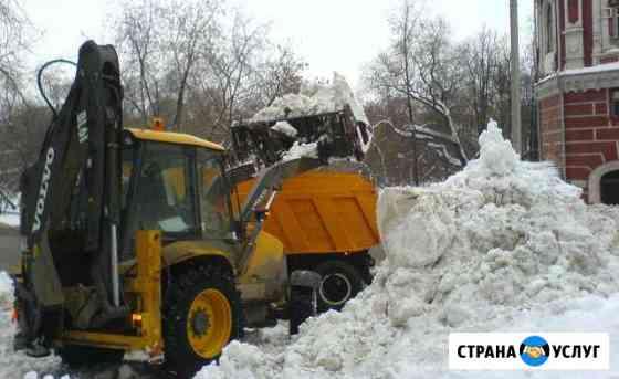 Уборка очистка снега вывоз утилизация Дмитров