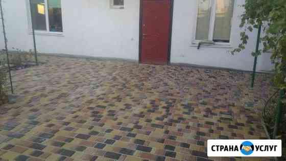 Тротуарная плитка укладка Севастополь