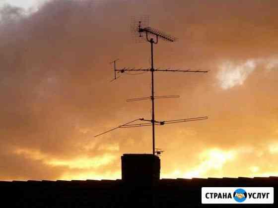 Антенны спутниковые, эфирные. Установка, ремонт, н Новосибирск