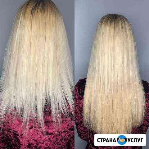 Наращивание волос под ключ Калининград